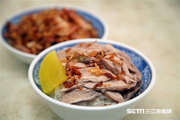 嘉義必吃小吃,美食,阿溪火雞肉飯。(圖/記者簡佑庭攝)