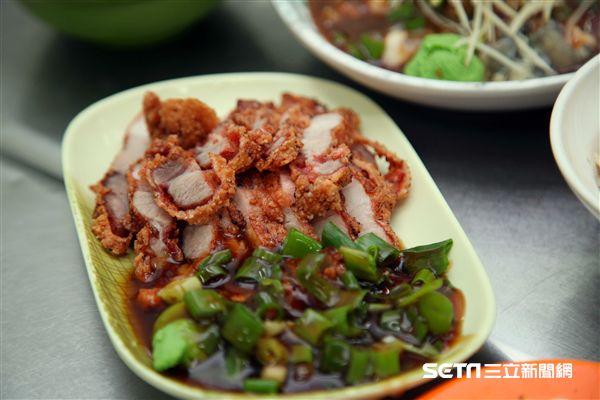 嘉義小吃,美食,阿霞火雞肉飯。(圖/記者簡佑庭攝)