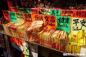 香港,旅遊,開運,黃大仙,觀音廟,打小人。(圖/記者馮珮汶攝)