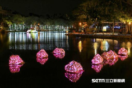 台南IG打卡熱點,月津港燈節。(圖/台南市觀光旅遊局提供)