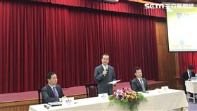 行政院政務委員羅秉成、司法院長許宗力、法務部長邱太三。潘千詩攝影