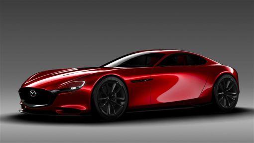 Mazda RX-VISION概念車。(圖/翻攝Mazda網站)