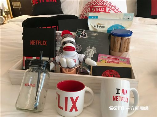 主題客房,Netflix,追劇,誠品行旅。(圖/記者簡佑庭攝)