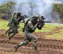 陸軍春節加強戰備。(邱榮吉/攝影)