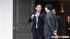 立法院第九屆第五會期立委報到,第五名時代力量黃國昌。 圖/記者林敬旻攝