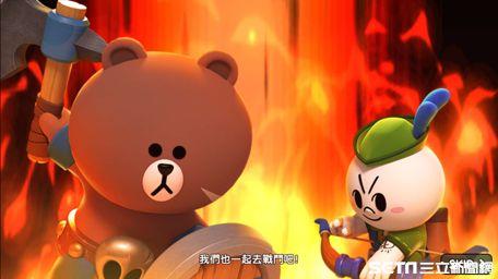 玩家,LINE GAME,LINE FRIENDS,LINE 熊大王國,事前登錄,LINE,熊大