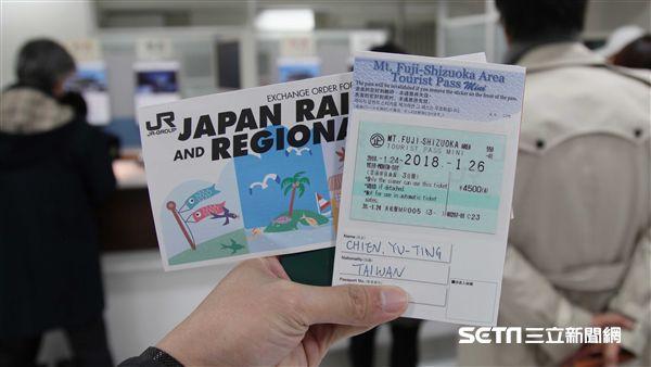 富士山、靜岡地區周遊券Mini交通券。(圖/記者簡佑庭攝)