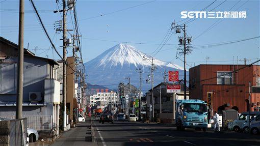 富士山、靜岡地區周遊券Mini交通券,富士山。(圖/記者簡佑庭攝)