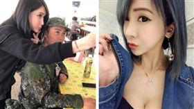 轟動營區的「最正媽媽」 臉書找到了!(圖/翻攝自臉書)