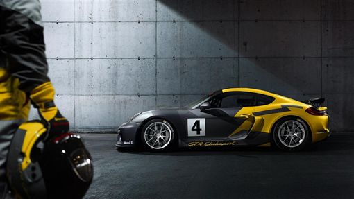 Porsche Cayman GT4 Clubsport。(圖/翻攝Porsche網站)