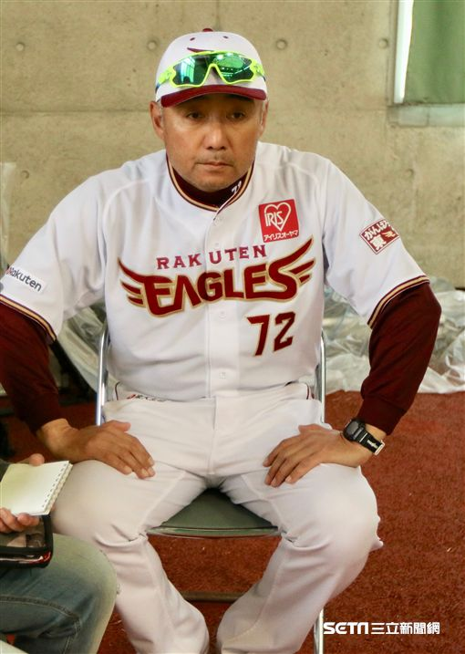 樂天投手教練森山良二(圖/記者雷明正攝影)
