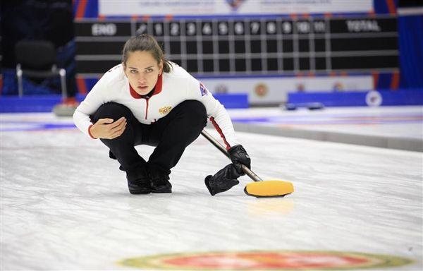 ▲俄羅斯冰壺女將Bryzgalova。(圖/翻攝自Anastasia Bryzgalova的IG)