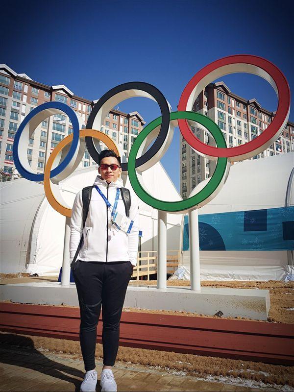 ▲連德安第2度挑戰奧運。(圖/翻攝自連德安臉書)