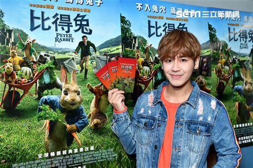 鼓鼓替電影《比得兔》中文版配音/索尼影業提供