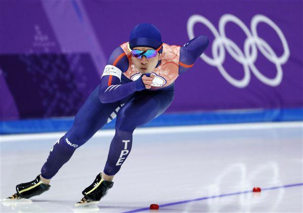 ▲台灣競速滑冰新星戴瑋麟。(圖/美聯社/達志影像)