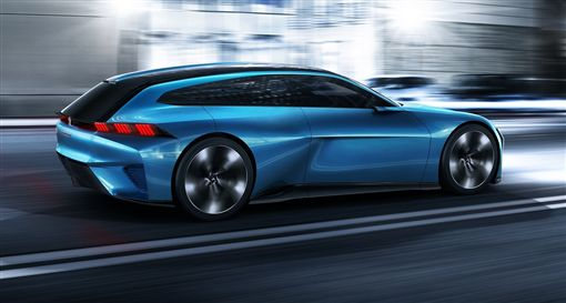 Peugeot Instinct概念車。(圖/翻攝Peugeot網站)