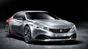 Peugeot Exalt概念車。(圖/翻攝Peugeot網站)