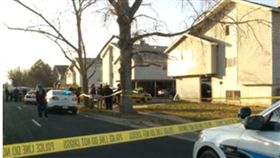 美國猶他州西谷市發生槍擊案,已知1死2傷。(圖/翻攝fox13now)