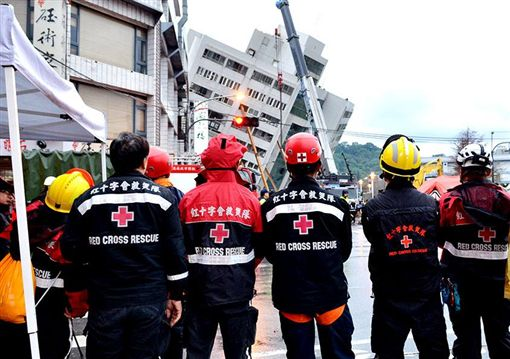 紅十字會募款協助花蓮震災圖/翻攝自中華民國紅十字會