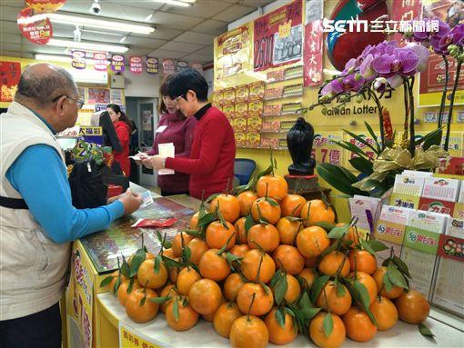 ▲台灣彩券春節大樂透加碼活動展開,要買要快。(圖/記者林辰彥攝影)