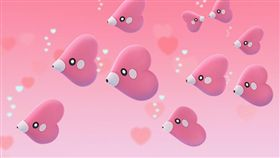 Pokemon Go 情人節 愛心魚