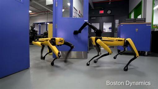 ▲波士頓動力公司(Boston Dynamics)推出的機器狗「SpotMini」(圖/翻攝自YouTube-BostonDynamics頻道)