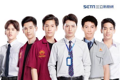 一年生,Fiat,Oaujun,Singto,Krist,Guy,Nammon,圖/佳音娛樂提供