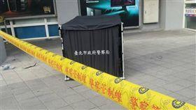 台北,光華商場,跳樓,墜樓(圖/翻攝畫面)