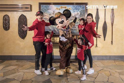 香港,迪士尼,小泡芙,劉耕宏,王婉霏,小宇恩,小珊珊 圖/香港迪士尼提供