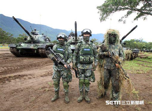 107年陸軍春節增強戰備 記者邱榮吉攝