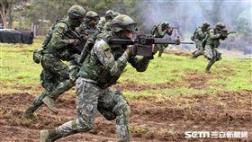 107年陸軍春節加強戰備 記者邱榮吉攝