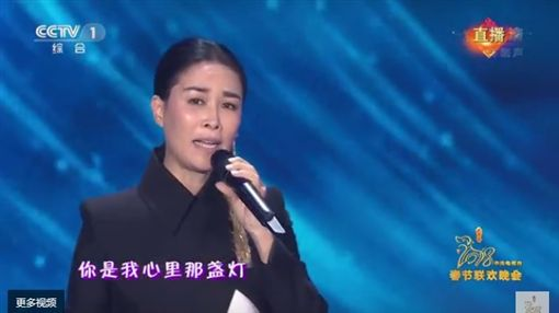 王菲 那英 春晚/翻攝自CCTV