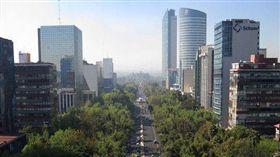 墨西哥市今日發生規模7.5強震,各地有感。(圖/翻攝維基百科)