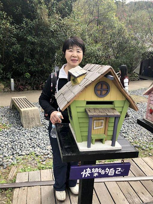 ▲福原愛母親在過年期間來台灣看女兒和親家。(圖/翻攝自江宏傑臉書)