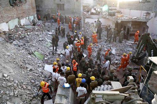 印度,瓦斯氣爆,婚宴,意外,爆炸,瓦斯 圖/翻攝自法新社