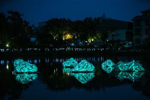台南月津港燈節。(圖/翻攝月津港燈節臉書)
