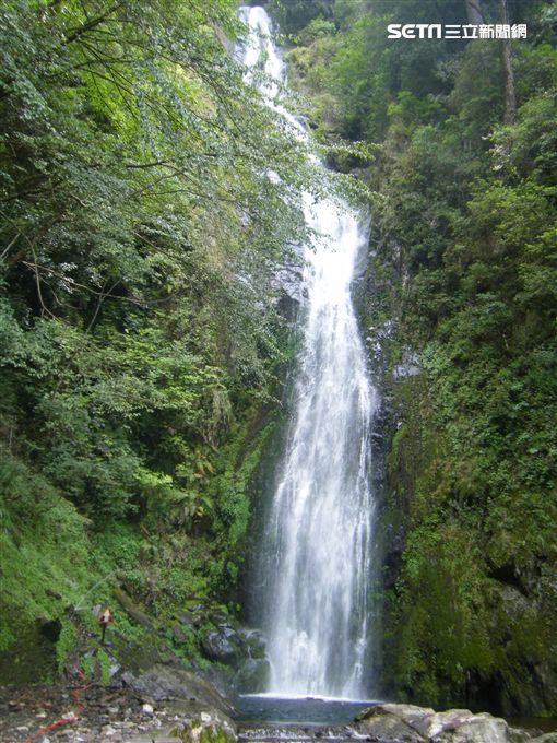 森林遊樂區,走春,武嶺國家森林遊樂區,桃山瀑布。(圖/林務局提供)