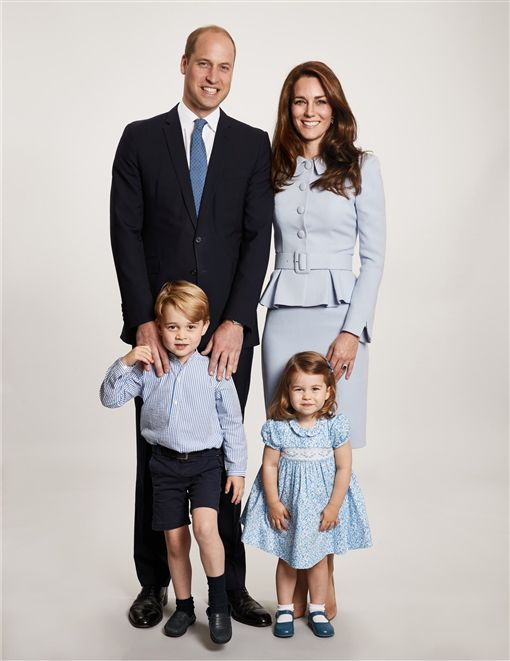 威廉王子,喬治王子,夏綠蒂公主 凱特王妃 圖/翻攝自推特Duchess of Cambridge
