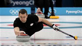 俄羅斯冰壺選手Alexander Krushelnitsky。(圖/美聯社/達志影像)
