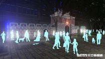 西門城垛,台北燈節許願牆。(圖/北市觀傳局提供)