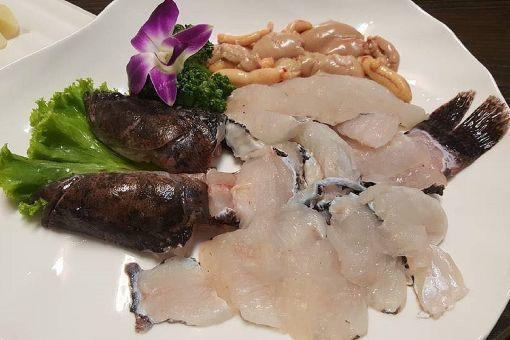 門檻高收益好 筍殼魚養殖潛力高(2)筍殼魚魚肉Q彈口感佳,是很受饕客喜愛的食材,除了常見的清蒸、煮湯之外,也可做成生魚片食用。(連俊堯提供)中央社記者楊思瑞台南傳真 107年2月20日