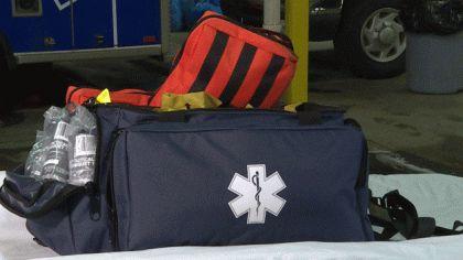 美國,槍案,American Medical Response,應急包,救援,急救 圖/翻攝自cbslocal