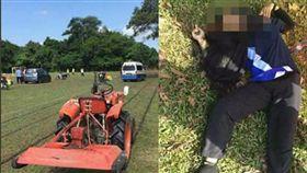 馬來西亞一名14歲女學生努阿菲妮(Nur Afini Roslan)在操場為隔日運動會練習時,慘遭割草機刀片射中頭部,努阿菲妮的頭被削成兩半當場慘死。警方初步認為事件純屬意外,目前已扣查割草工友,持續調查中。(圖/翻攝自Documenting Reality推特)