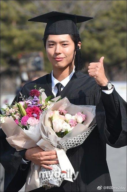 朴寶劍大學畢業/翻攝自微博