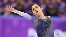 ▲俄羅斯花式滑冰奪牌大熱門Evgenia Medvedeva。(圖/美聯社/達志影像)