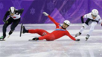 武大靖競速滑冰 中國破0金最後希望