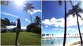 林心如,霍建華,夏威夷,老公視角,度假/林心如臉書