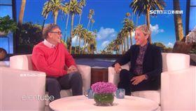 比爾蓋茲,艾倫秀,娛樂咖,艾倫狄珍妮,首富,喜劇,娛樂圈
