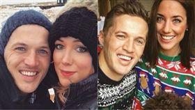 Jake Coates,Emmy Collett,Jenna Selby,Instgram,IG,甲狀腺癌,雙胞胎,結婚 圖/翻攝自Jake CoatesIG https://goo.gl/CWMsfb