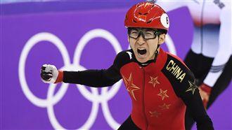 男子競速滑冰 武大靖為中國突破0金